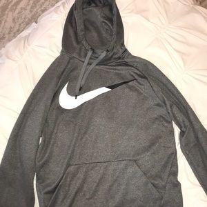 Grey Nike Dri-Fit Sweatshirt